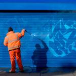 υπηρεσίες καθαρισμού: αφαίρεση γκράφιτι