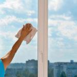 υπηρεσίες καθαρισμού: γυάλινες επιφάνειες