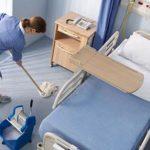 υπηρεσίες καθαρισμού: καθαρισμοί νοσκομείων